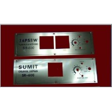 Hard Stainless Steel Nameplate