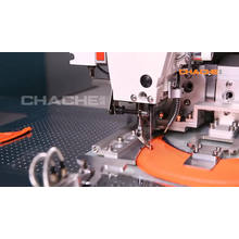 Industrielle Nähmaschinen mit automatischer Vorschubkappe