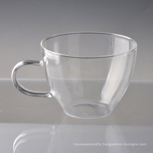 Single Wall Borosilicate Big Coffee Mug