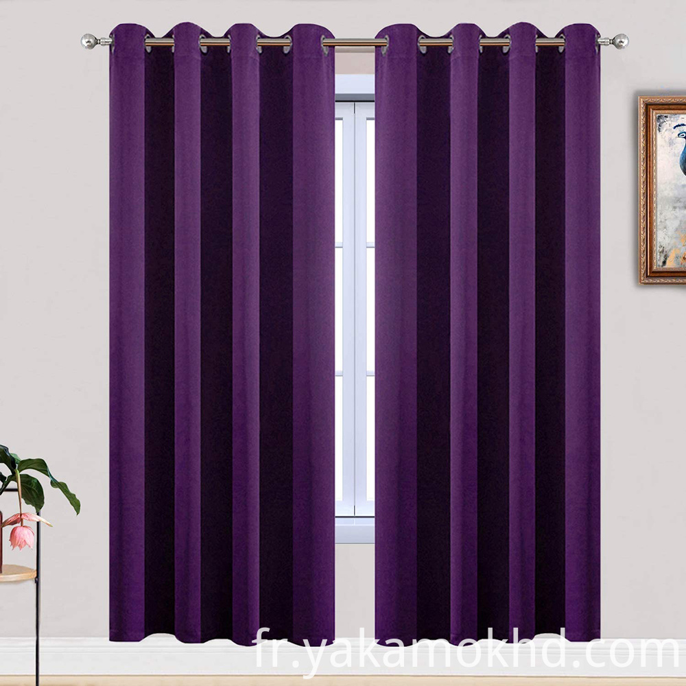 52-72 Purple Curtains