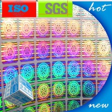 Rainbow Holographic 3D Security Label
