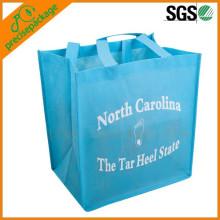 ЭКО вторичной переработке PP Non сплетенная хозяйственная сумка для продвижения