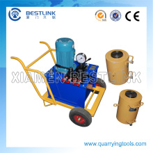 Electric or Diesel Hydraulic Jack Machine for Stone Pushing