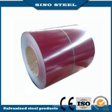 Dx51d couleur enduit à chaud PPGI couleur enduit bobines d'acier
