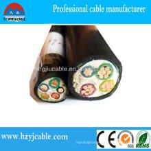 XLPE Power Cable PVC Sheath Low Voltage Power Cable