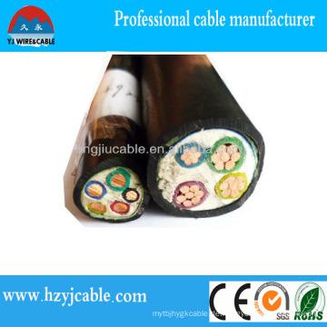 XLPE Netzkabel PVC Mantel Niederspannungs-Stromkabel