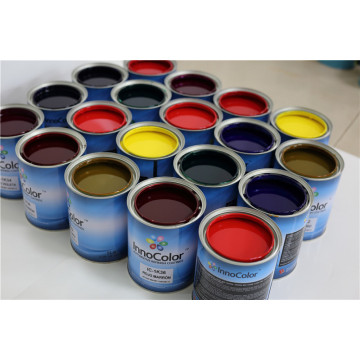 1K Basecoats Solid Car Coating Autoreparaturlack