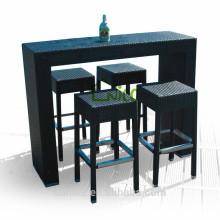 2014 hot sale morden design bar furniture +bar nightclub furniture rattan bar stool
