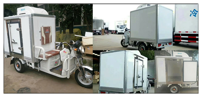 Tricycle Cooling chiller three wheel refrigeration