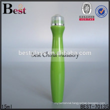 15ml plastic roller nice shape perfume bottle, printing type nice shape perfume bottle