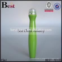 15 мл с пластиковым роликом мило форма бутылки, печатание Тип мило форма бутылки