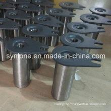 Base d'arbre de pièces de soudage en acier OEM