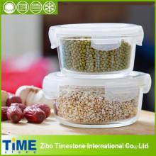 Стеклянный герметичный контейнер для замороженных продуктов