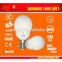 Супер мини глобальный 5W энергосберегающие лампочки 8000H CE качества