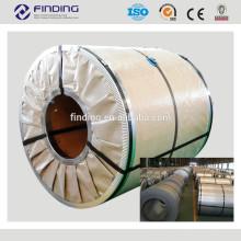 prime de bobina de aço galvanizada quente mergulhado o bobina de aço revestido zinco de bobina de aço galvanizada