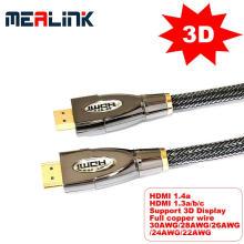 Cabo HDMI de alta velocidade 1.4V (suporte a 4K e 3D)