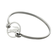 steel bangles with cow simple bangle for women