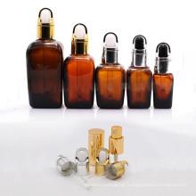 Bouteille de lotion de luxe en céramique et bouteille en verre cosmétique (NBG06)