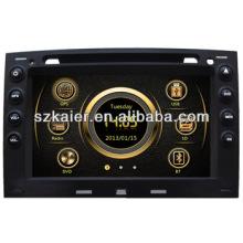 PC de voiture haute définition pour Renault Megane avec GPS / Bluetooth / Radio / SWC / Internet virtuel 6CD / 3G / ATV / iPod / DVR