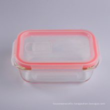 Leak Proof Layered Easylock Lunch Box Glass Sugar Bowl