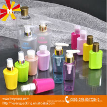 75ml colorful plastic package PET bottles for cosmetics