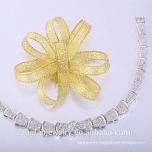 Leather bracelet wholesale pave hihop fashion jewelry
