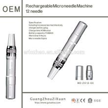 Rechargeable Nouveauté de haute qualité Auto Electric Derma 12Pin Pen Micro Needle