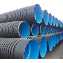 110mm,1000mm 36inch hdpe spiral corrugated drainage pipe