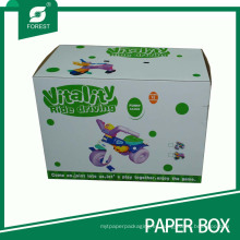 Impresión en offset de cajas de cartón corrugado para asiento de niño