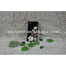 manual bling flower mobile phone case