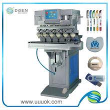 Sechs Farben Pad Drucker Maschine