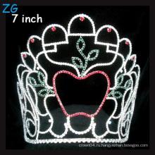 Рождественская прическа «Яблоко в форме короны» Тиара