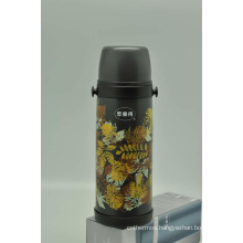 High Quality 304 Stainless Steel Vacuum Flask Double Wall Vacuum Flask Svf-1000e Gray