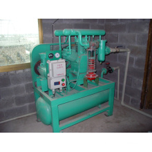Compressor do pântano de alta pressão compressor do metano compressor do biogás (Zw-1.1 / 0.6-9)