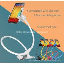Actualice el soporte universal para teléfono móvil con doble clip