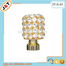 high quality flexible shower curtain rod with dimond curtain finial in Africa