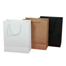 Muster Brown Sos Papiertüte Lebensmittelverpackung Schmuck Geschenk Anpassen Papier Mit Griff Kraftpapier Tasche