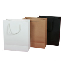 Pattern Brown Sos Paper Bag Food Packaging Jewelry Gift Customize Paper With Handle Kraft Paper Bag