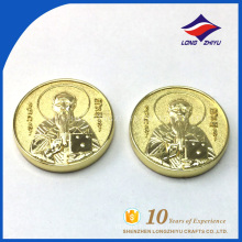 Custom engraved blank metal coins,Single custom gold coins