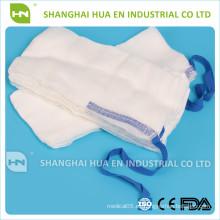 100% algodón de alta calidad gasa abdominal esponjas CE ISO FDA hecho en China