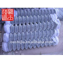 9 gauge chain link fence&powder coated chain link fence&tension wire chain link fence