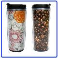 Werbeartikel aus Kunststoff-Kaffee-Haferl, Travel Mug (R-2074)