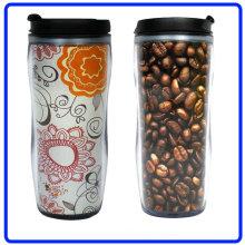 Promotional Plastic Coffee Mug, Travel Mug (R-2074)