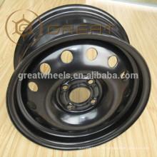 Roues de roues en acier de haute qualité en provenance de Chine