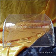 Acrílico caja de presentación para el sostenedor del caramelo de Color claro