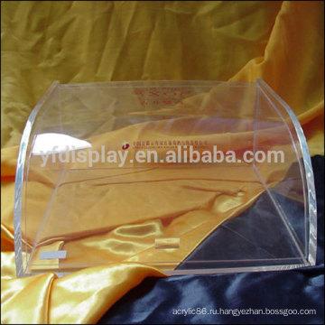 Акриловая коробка дисплея для держателя конфеты в четкие цвета