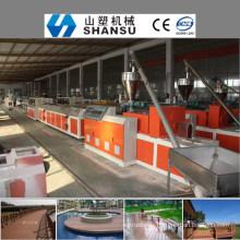 2014 CHINE MANUFACTURIER BOIS PLASTIQUE PROFIL COMPOSITE Machine Line / bois machine à composites en plastique