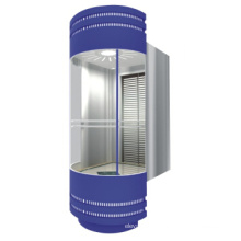 High Quality Stainless Steel Panoramic Elevator with Machine Room