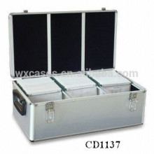 high quality&strong 630 CD disks aluminum CD case wholesale