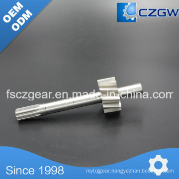 High Precision Customized Transmission Shaft Spline for Various Machinery